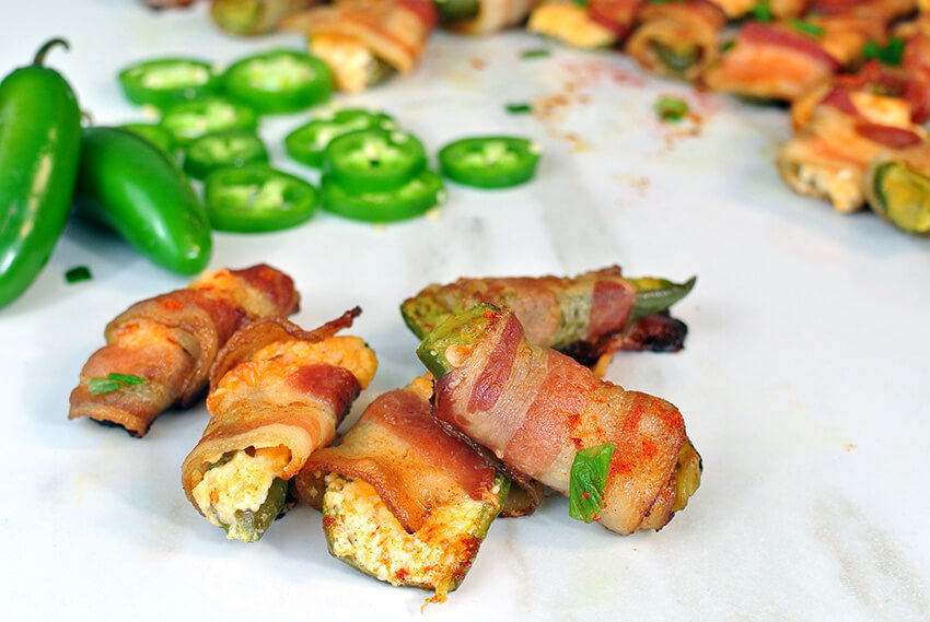 Keto Bacon Jalapeno Poppers