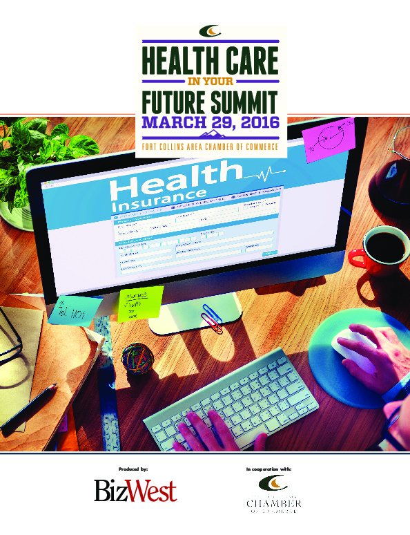 Fort Collins Chamber - Health Care in Your Future - 2016