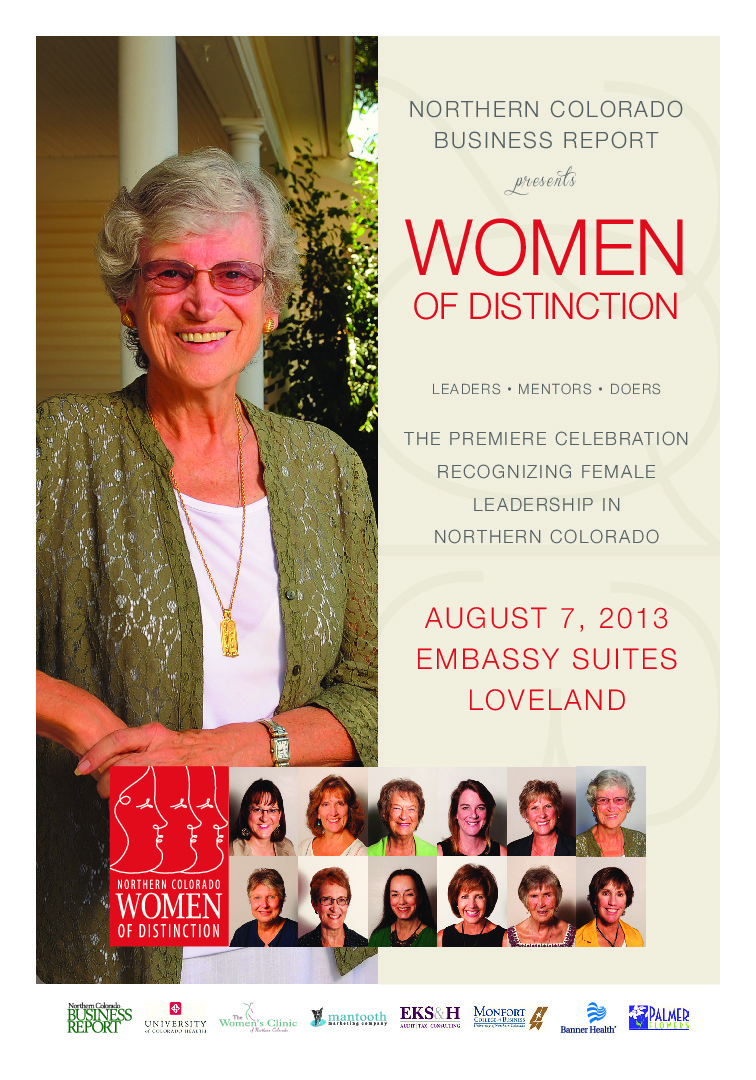 thumbnail of Northern Colorado Women of Distinction – 2013