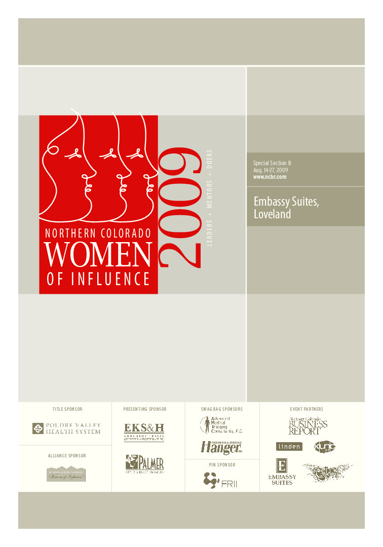 thumbnail of Northern Colorado Women of Distinction – 2009