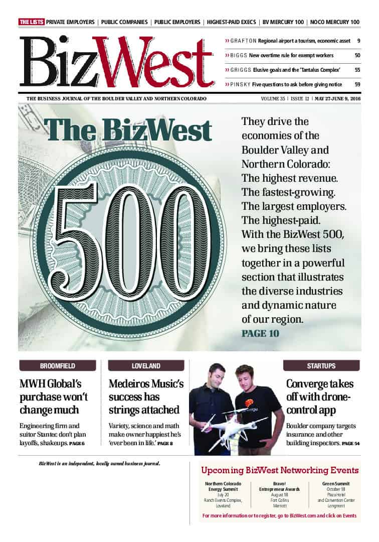 BizWest Edition - 05-27-2016