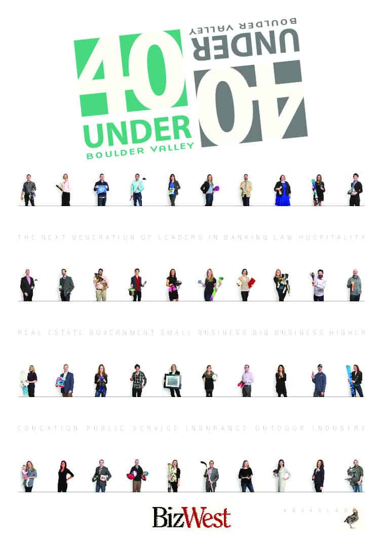 40 under Forty - 2016 - Boulder Valley
