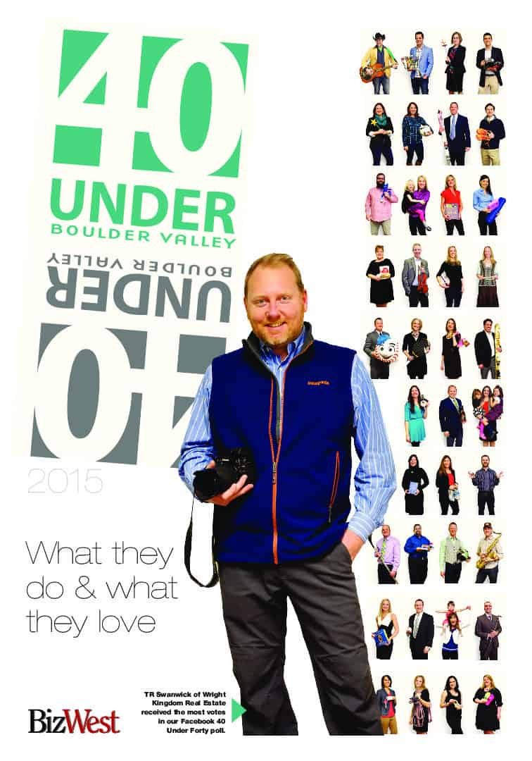40 under Forty - 2015 - Boulder Valley