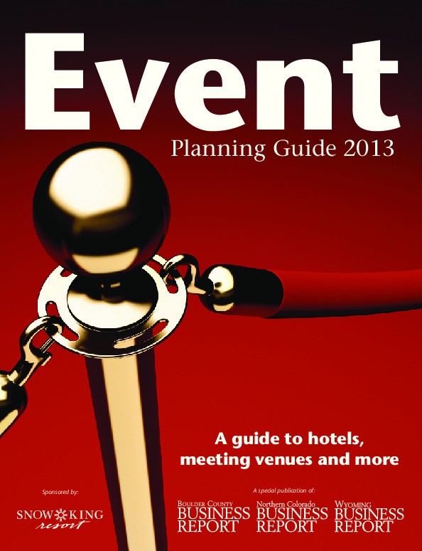Event Planning Guide – 2013