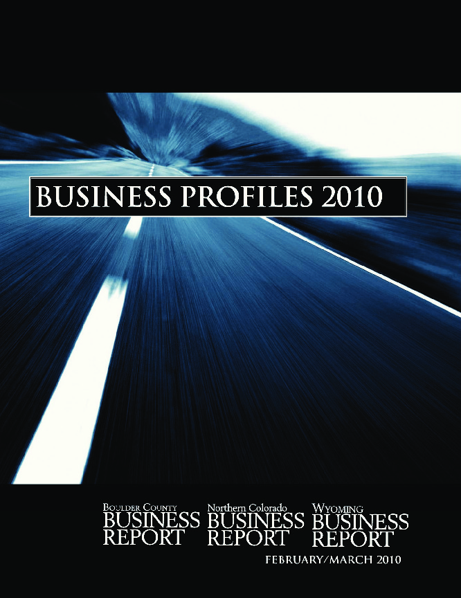 Business Profiles - 2010
