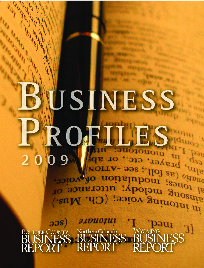Business Profiles - 2009