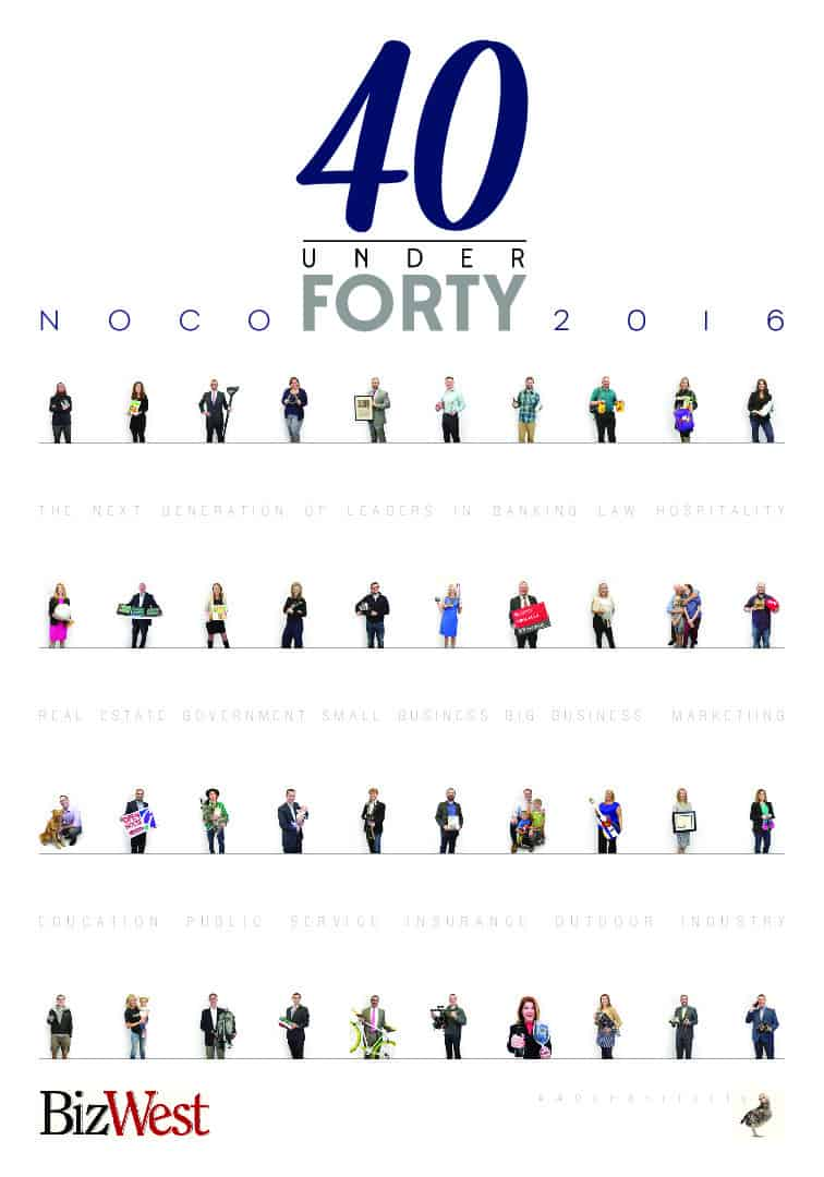 40 under Forty – 2016 – Northern Colorado