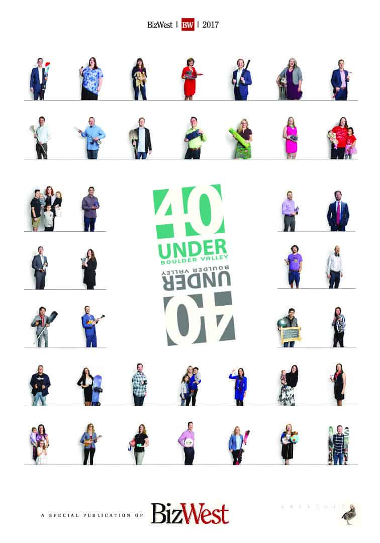 Boulder Valley 40 Under Forty - 2017