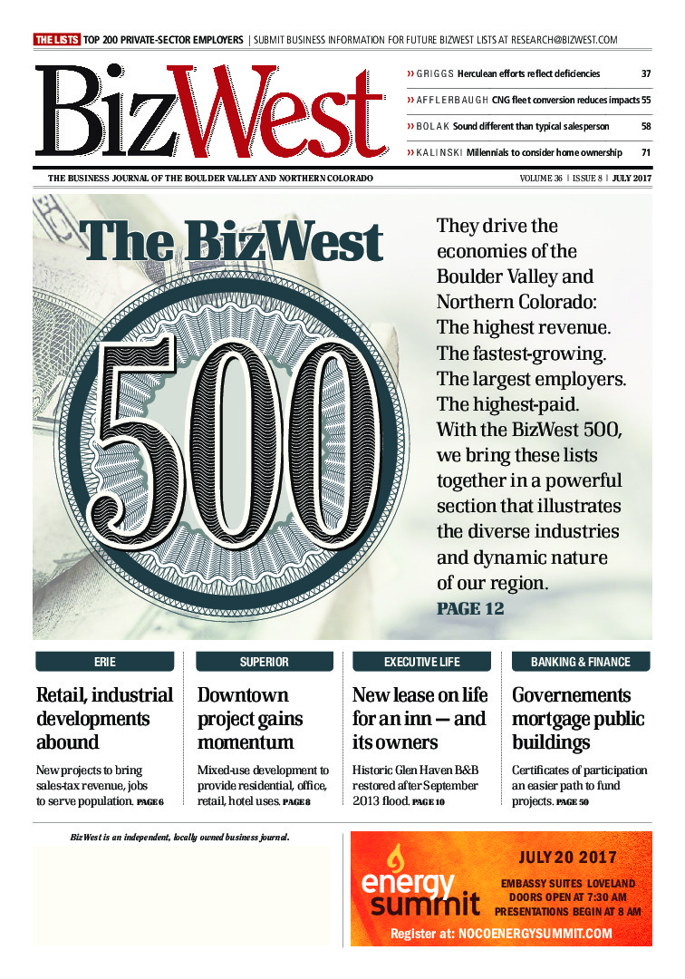 BizWest Edition - July 2017