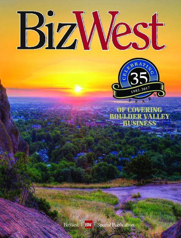 BizWest: 35th Anniversary of Covering Boulder Valley Business