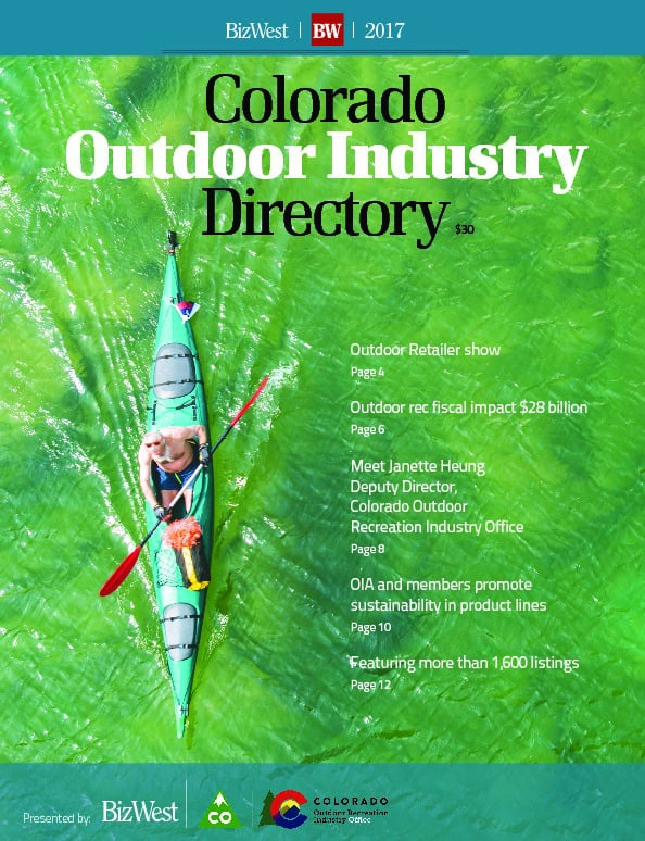 Colorado Outdoor Industry Directory – 2017