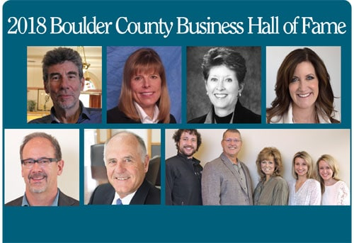 2018 Boulder County Business Hall Of Fame