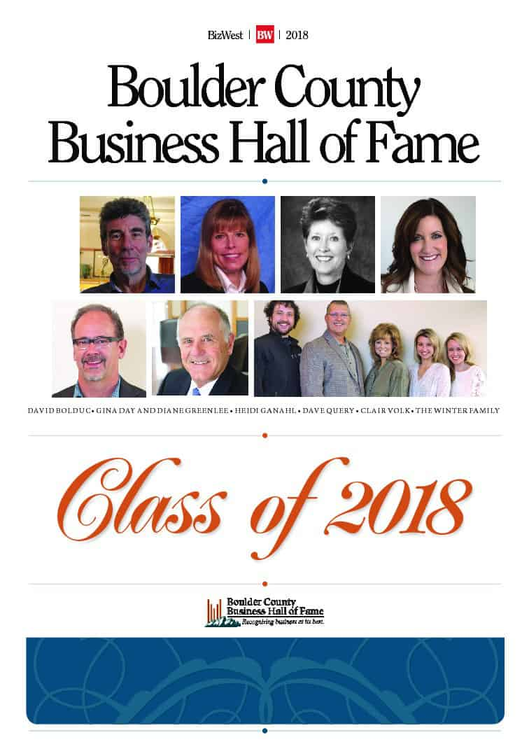 Boulder County Business: Hall of Fame – 2018