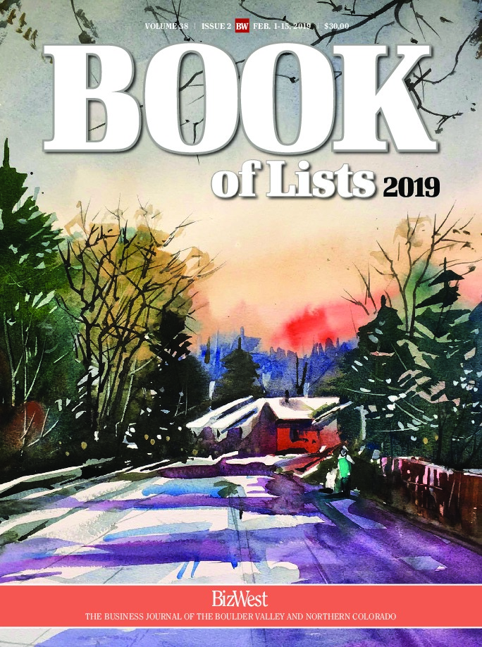 Book of Lists – 2019