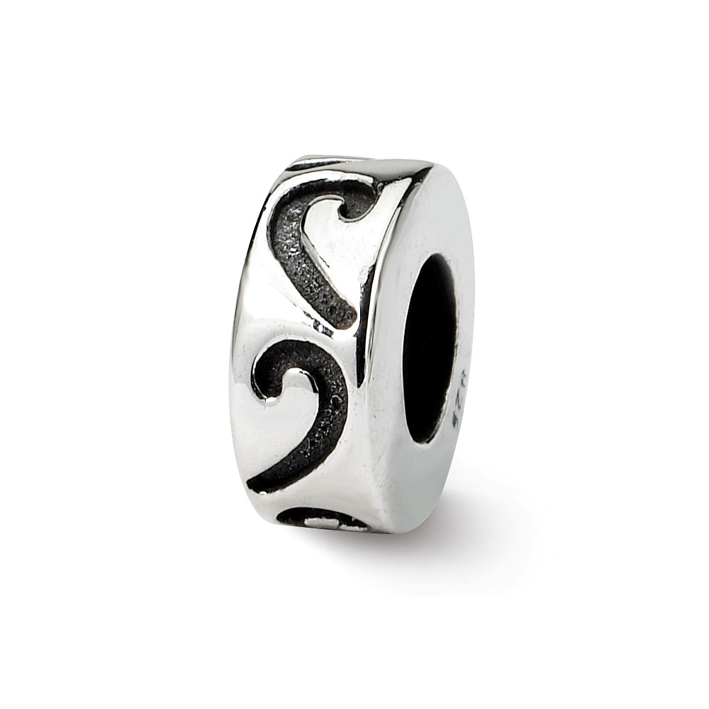 Sterling Silver Stopper and Spacer Bead Charm