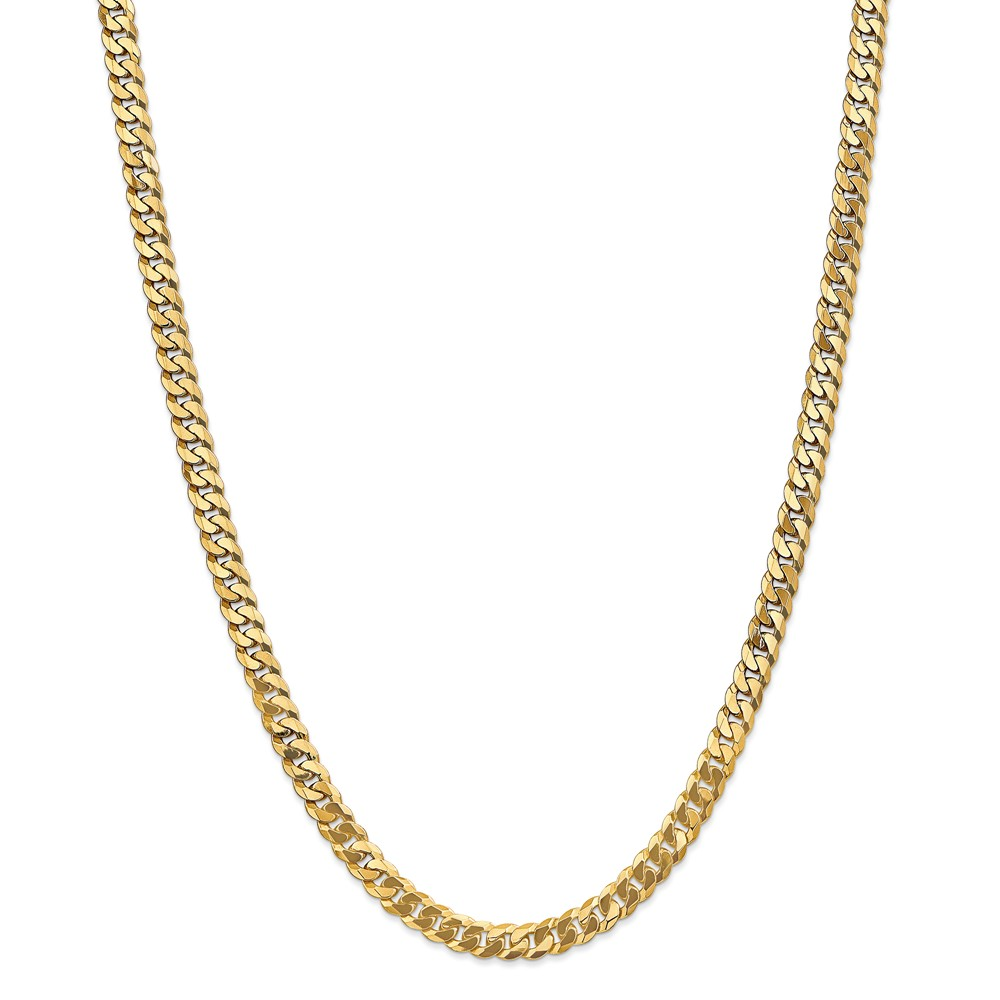 Yellow   Chain   Solid   Gold   Men