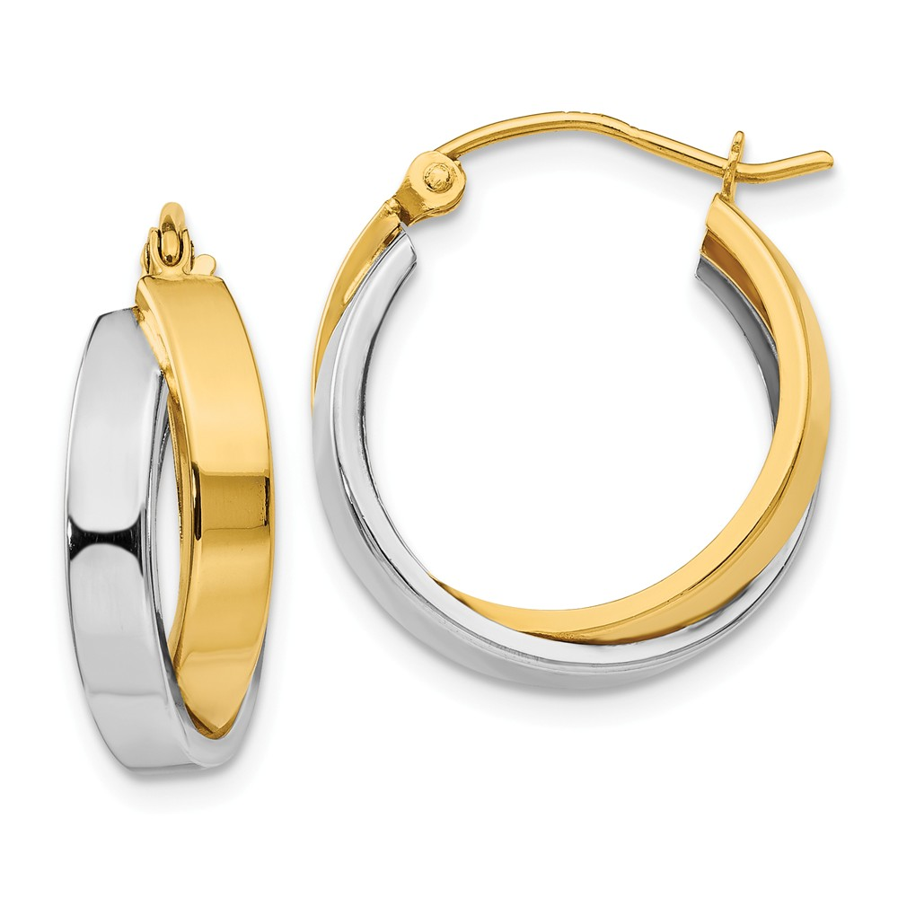 Two-Tone | Double | Round | Hoop