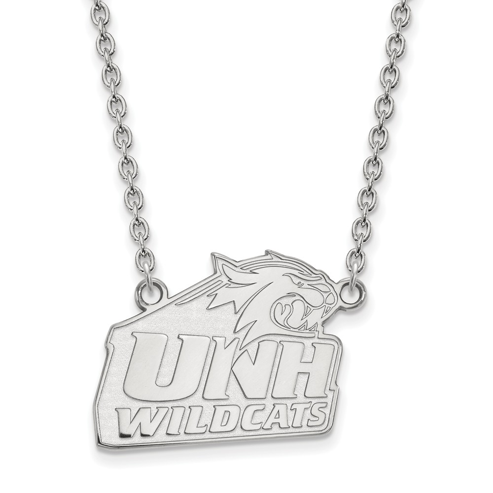 Hampshire | Sterling | Necklace | Pendant | Silver | Large | NCAA | New