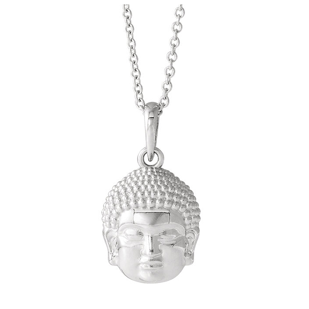 Sterling | Buddha | Silver | Small