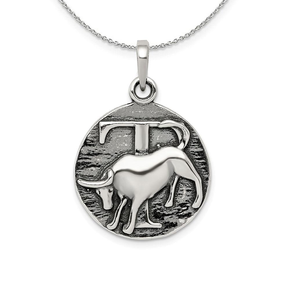 Sterling | Necklace | Zodiac | Silver | Bull