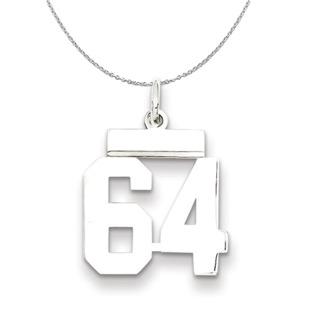 Collection   Athletic   Necklace   Polish   Number   Medium