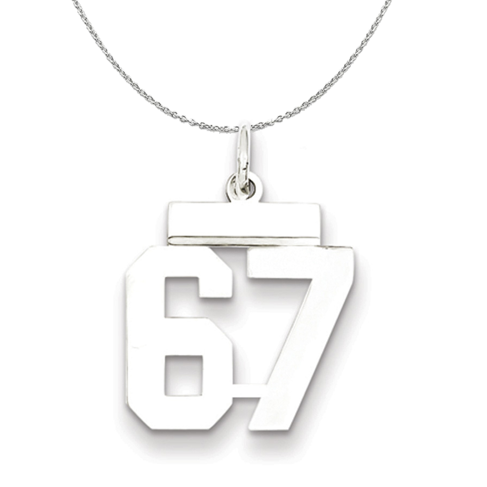 Collection | Athletic | Necklace | Polish | Number | Medium