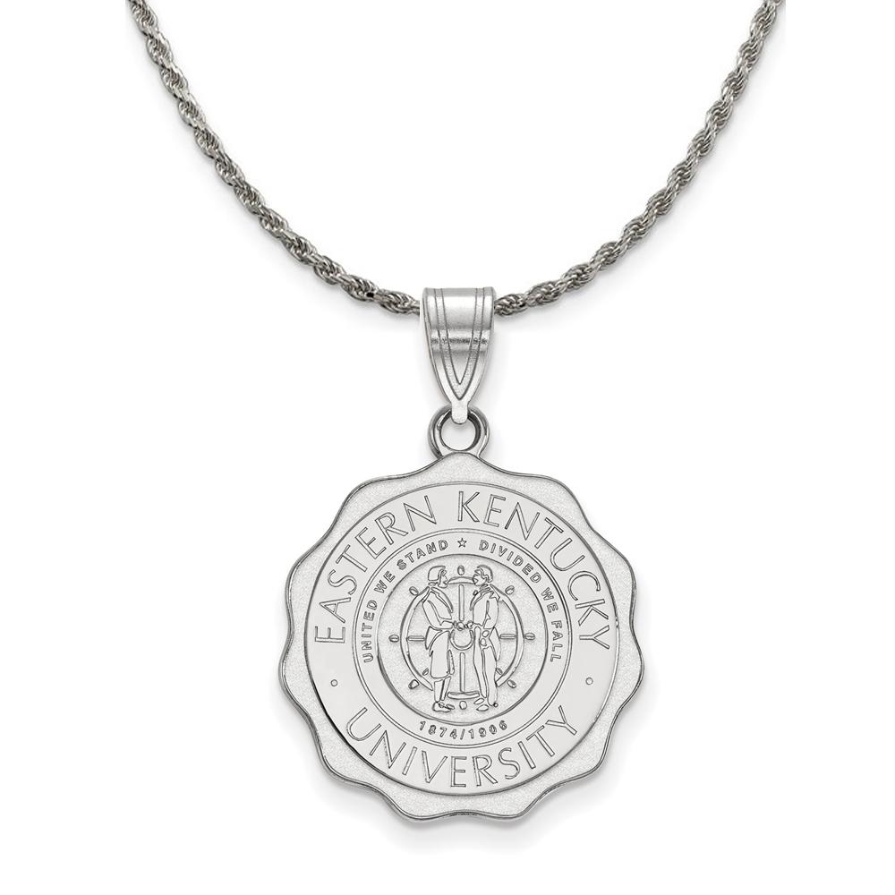 Kentucky | Necklace | Eastern | Pendant | Silver | Large | NCAA