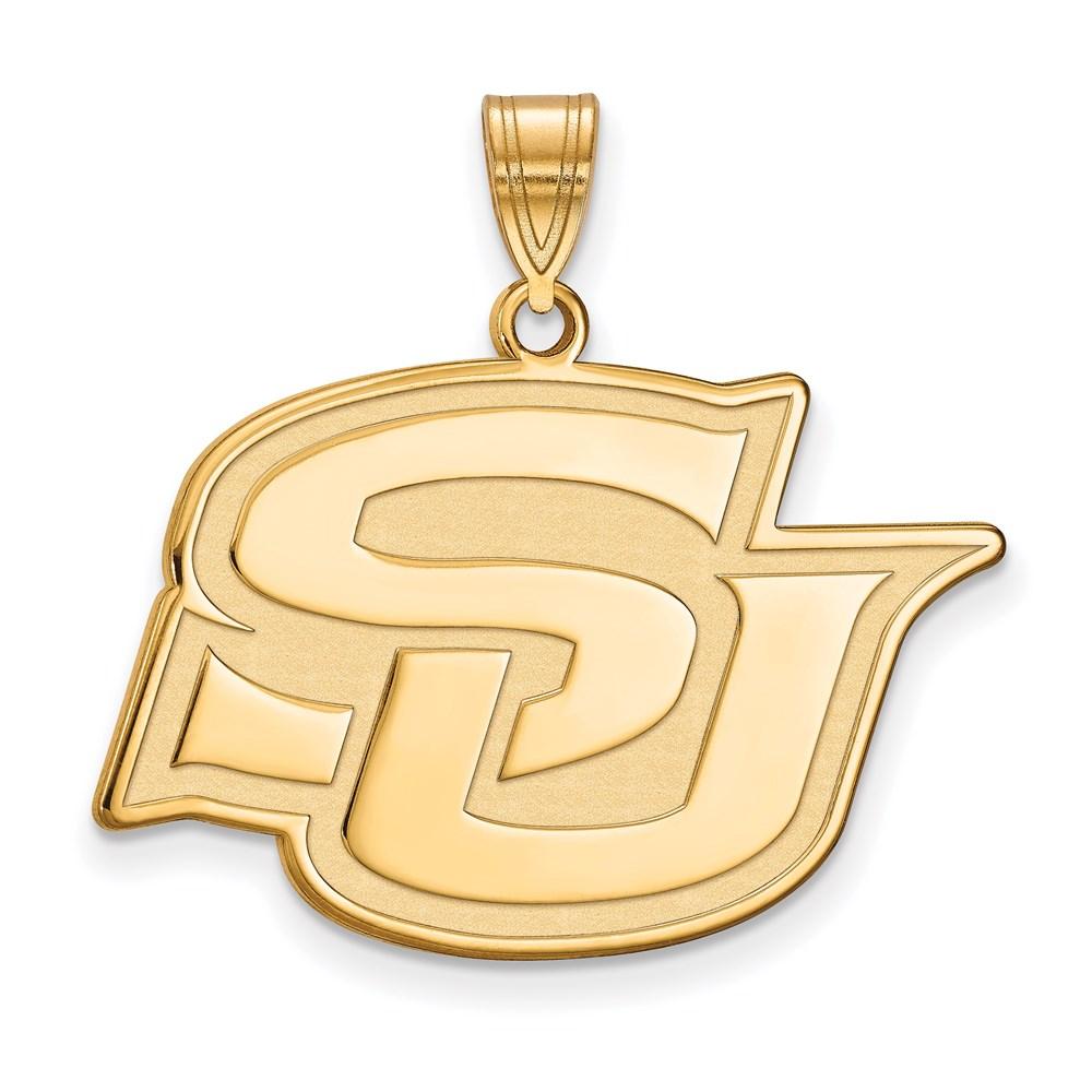 Ncaa 14k Yellow Gold Southern U. Large Pendant