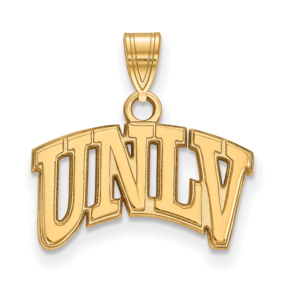 Necklace | Nevada | Yellow | Vegas | Small | NCAA | Gold | Las