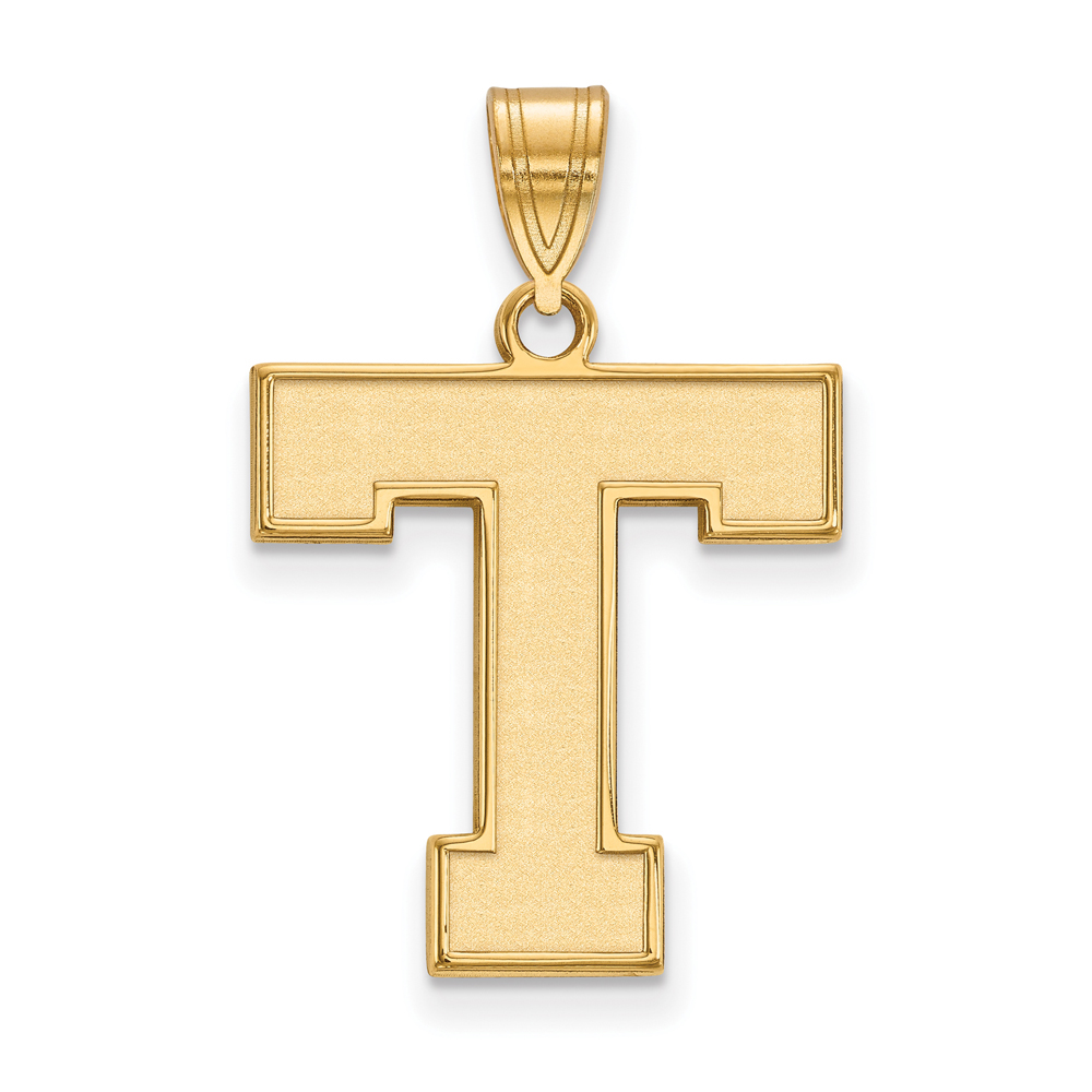 Ncaa 14k Gold Plated Silver Tarleton State Large Pendant