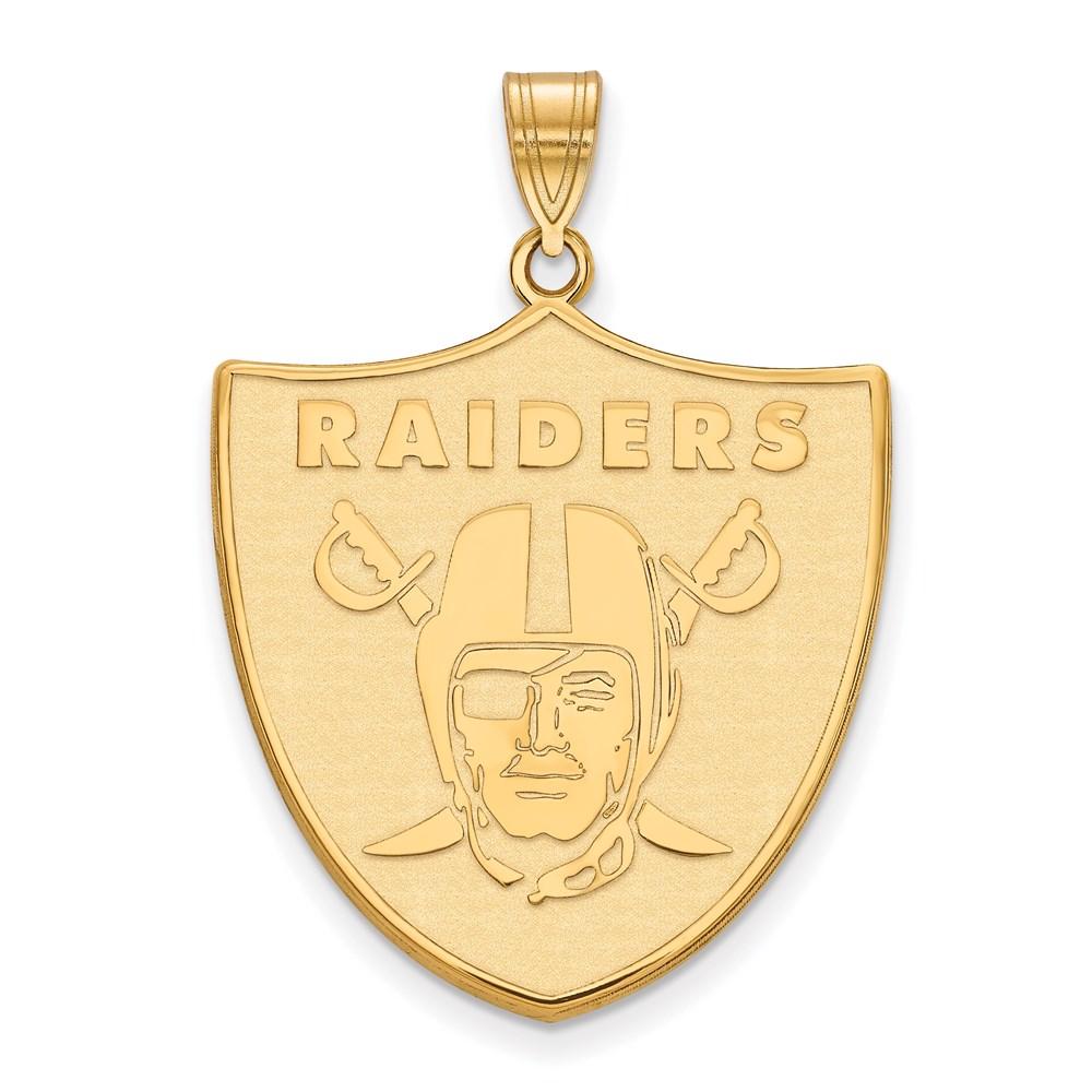Pendant | Raider | Yellow | Vegas | Gold | Las | NFL