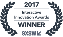 2017 Interactive Innovation Awards Winner SXSW