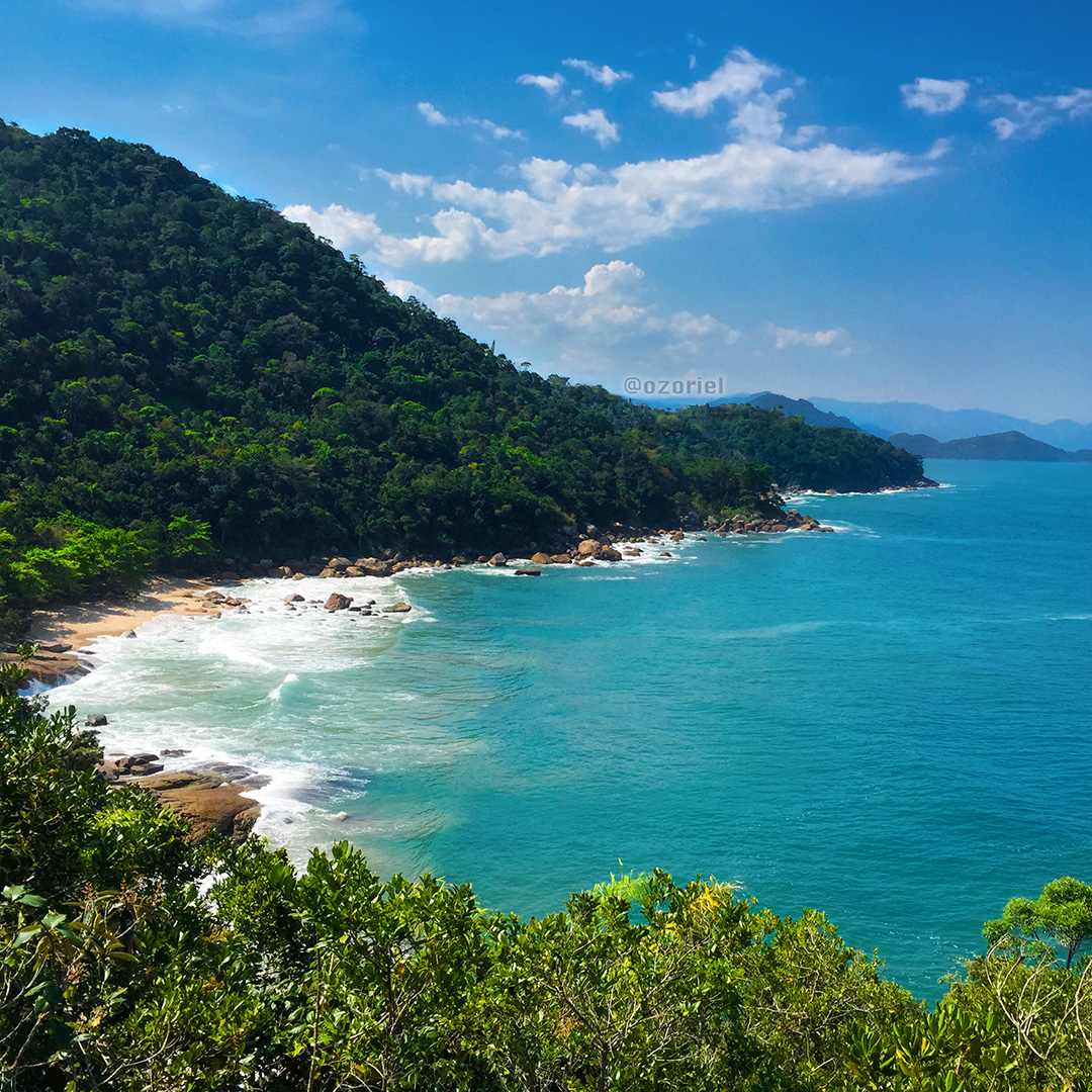 Exotic Beach: Cool Down At Ubatuba Tropical Beaches