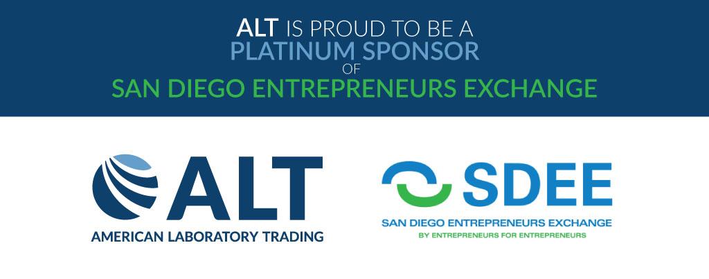 American Laboratory Trading Announces Platinum Sponsorship of San Diego Entrepreneurs Exchange  Image