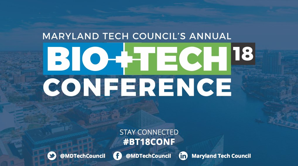 Maryland Tech Council's Bio + Tech Conference  Image