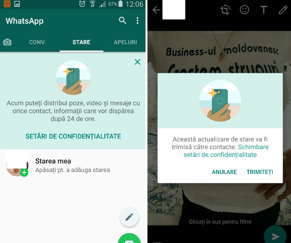 image of status whatsapp