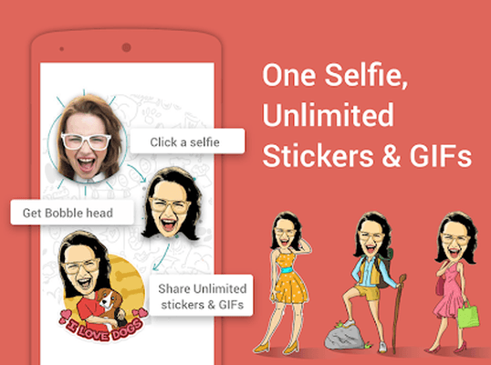 image for selfie sticker whatsapp