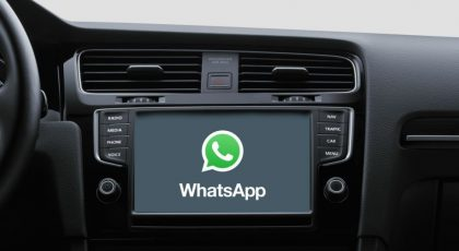 Image 5: WhatsApp in Android Auto: Everything you Can and Can't Do