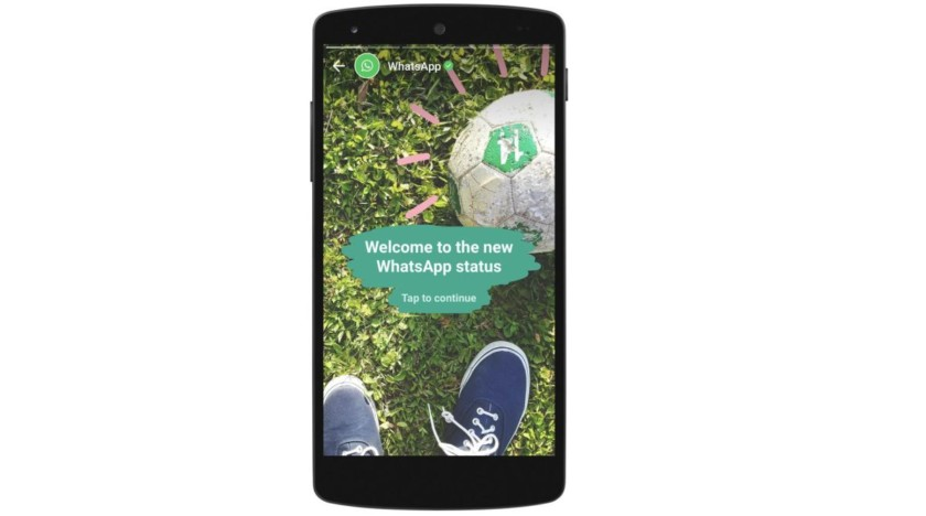 Image 1 WhatsApp Status: A new feature that will remind you of Snapchat Stories!