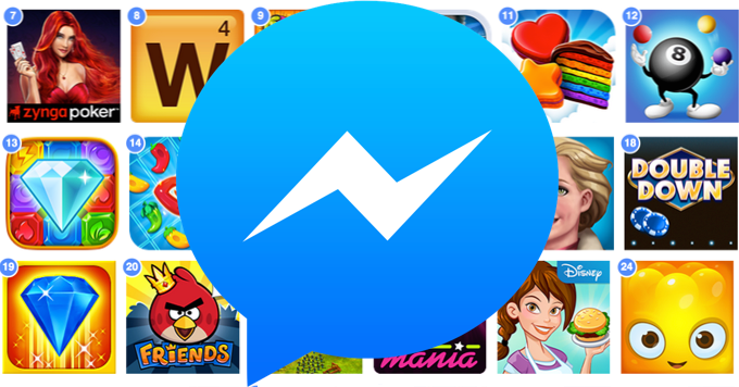Image 1 Facebook Messenger rolls out Games worldwide