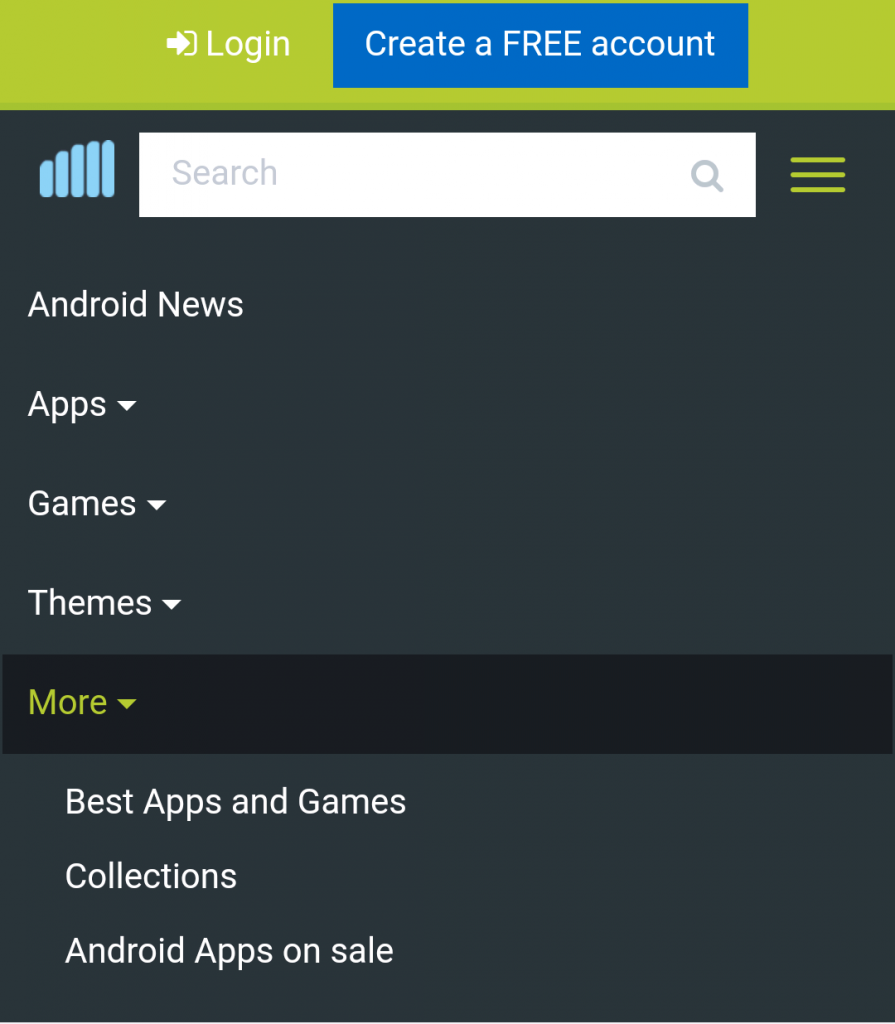 Image 1 Check our new section out: Android Apps on Sale!