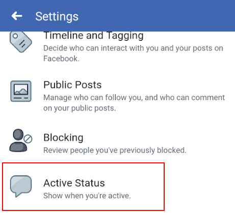 image 3 - Hide Your Active Status on Facebook Messenger