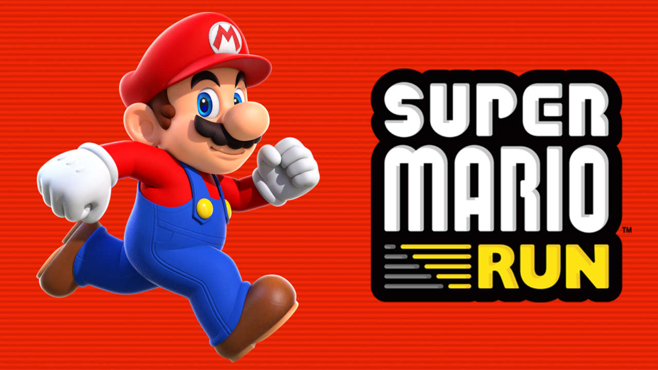 Super Mario Run Logo Groß