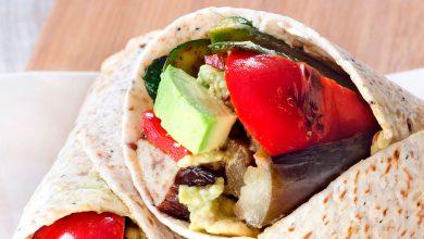 Photo of Prepara un burrito vegetariano ¡facilísimo!