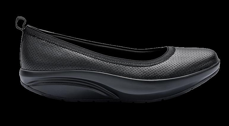 Zapato flat walkmaxx en negro