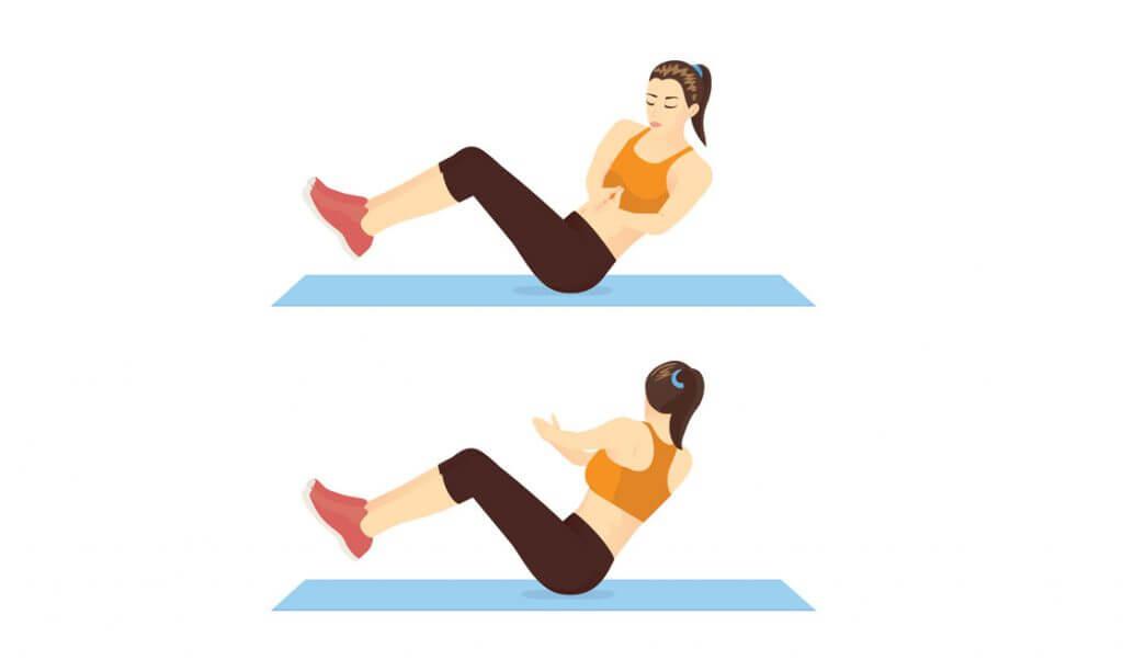 abdomen plano con ejercicio