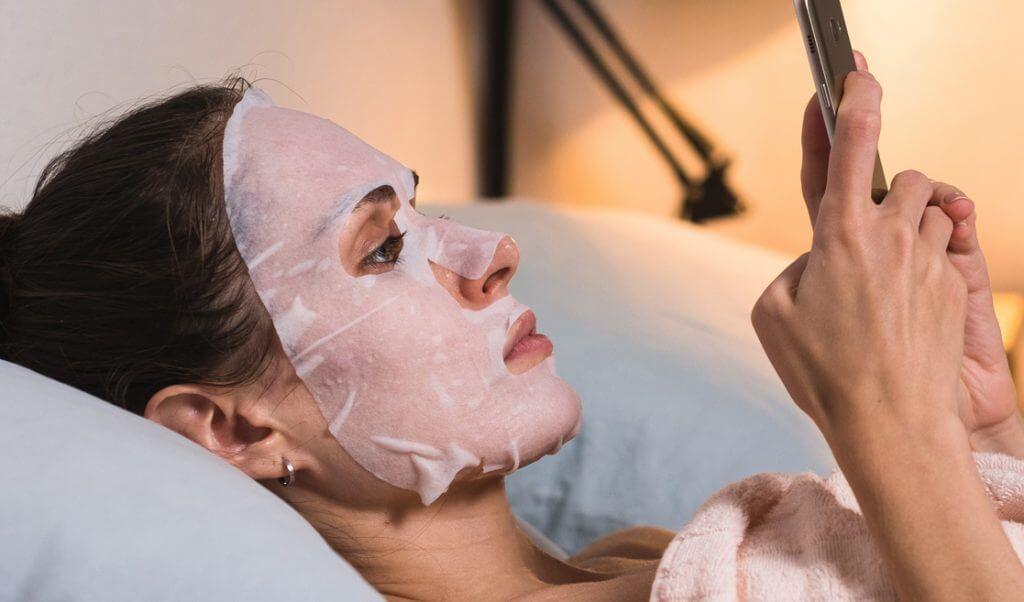 uso de mascarillas coreanas para la piel
