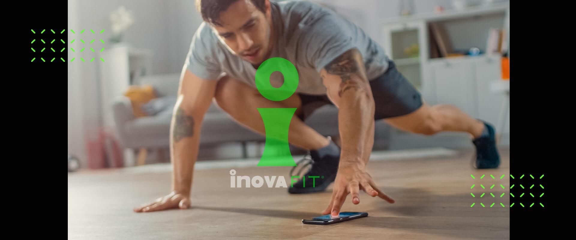 inovafit app y aparatos de ejercicio