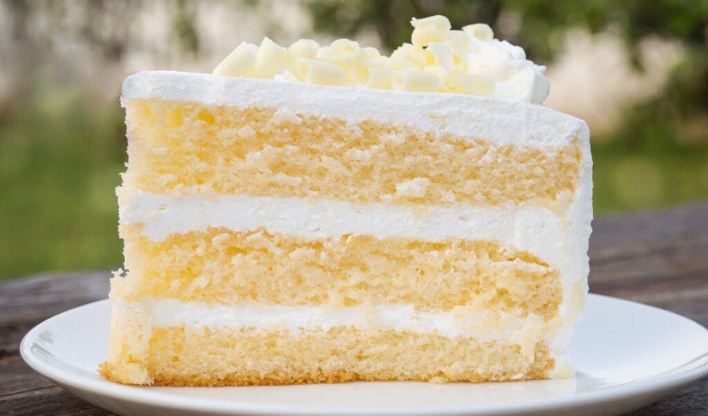 postre fácil de pastel helado