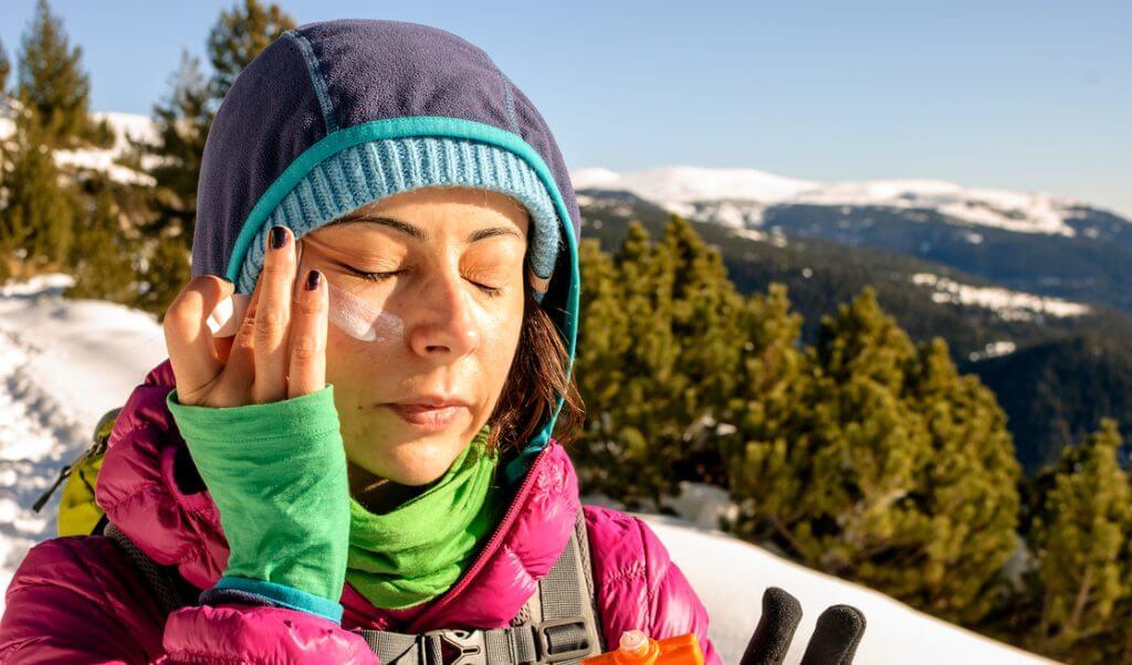 Protección solar en invierno